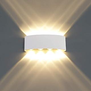 MR.3 LED ضوء الجدار الحديث الألومنيوم للماء في الهواء الطلق والداخلية الاتجاه أعلى وأسفل الجدار الشمعدان الجدار في درج داخ...