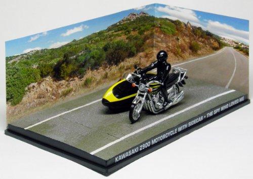 Colección de vehículos 007 James Bond Car Collection Nº 95 Kawasaki Z900 motorcycle (La Espía Que Me Amó)