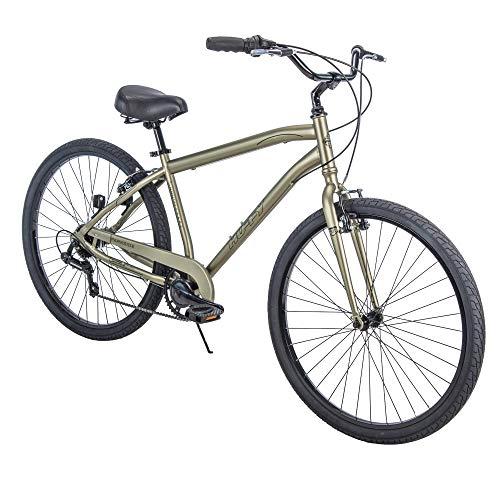 """Huffy 27.5"""" Parkside SE Men's Comfort Bike Frame, Sage"""