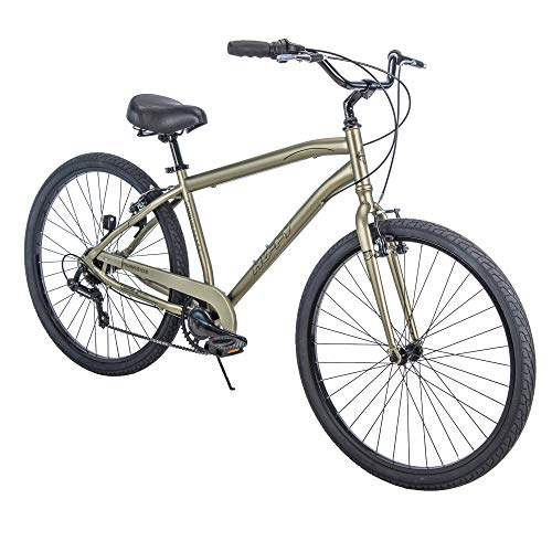 "Huffy 27.5"" Parkside SE Men's Comfort Bike Frame, Sage"