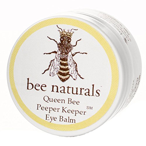 Queen Bee Naturals Best Eye Balm Peeper Keeper  Eyelid Cream Helps Reduce Crows Feet Wrinkles amp Fine Lines  Pure Anti Aging Restorative Moisturizes Your Skin  Vitamin E  10 Organic Nutrient Oils