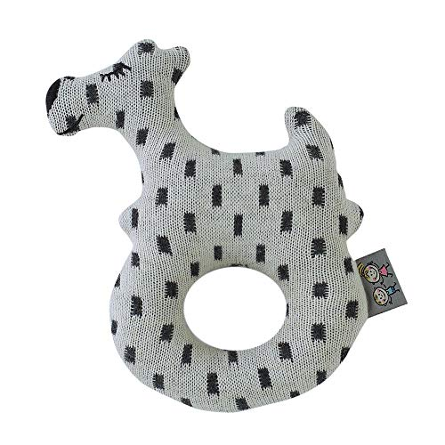 Sevira Kids - Hochet en coton - Chien Scotty