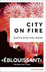 City on fire, édition française par Hallberg