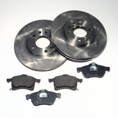 Bremsscheiben/Bremsen + Bremsbeläge für vorne/für die Vorderachse