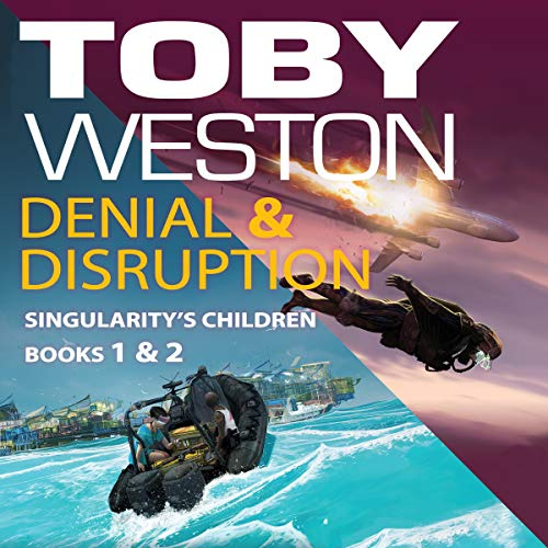 Denial & Disruption Audiobook By Toby Weston cover art