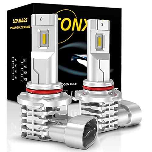Bombilla 9005/HB3 LED Coche, 6500K Blanca Luces CREE Chip Todo en uno Luz Lampara, DC 12V-24V Faro e DRL de Reemplazo, 1 Par. [Garantía de 2 años]