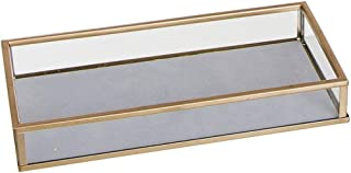 Unbekannt Vaciabolsillos con base de terciopelo, cristal/metal, gris, 20 cm