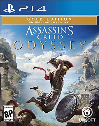 Assassin's Creed Odyssey - PlayStation 4 Gold Steelbook Edition