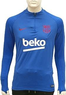 Nike 2019-2020 Barcelona Drill Training Top (Blue)