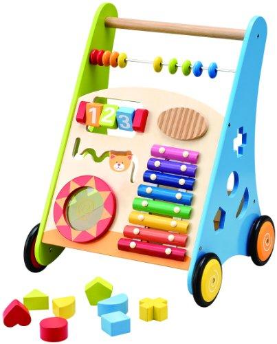 El mejor andador de bebé de madera con centro de actividades: Wooden Toys