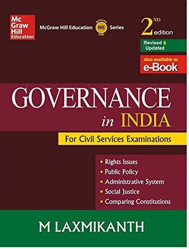 UPPSC PCS Books for Indian Governance and Polity
