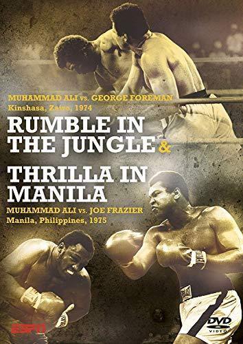 Rumble In The Jungle & Thrilla In Manilla - Ali, Foreman & Frazier [DVD]