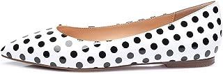 CASTAMERE Chaussures Plates Femme Bout Pointu Basse Talon Ballerines Escarpins