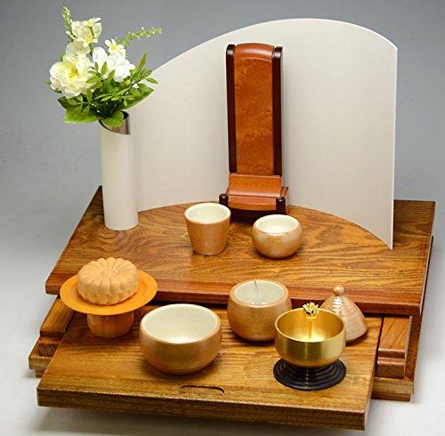 オープン型 仏壇 フォンテーヌ ホワイト モダン仏壇 / 手元供養 パーソナル供養 ペット仏壇 祭壇 無宗教 におすすめ リビングや寝室などどの場所にも合わせやすい、ミニ仏壇 祭壇 としての 仏具 ミニ仏壇 祭壇
