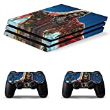 Ghost Recon Wildland PS4 Controller and Console Skin Sticker Protective Cover Wireless/Wired Gamepad Controller Full Body Skin Body Vinyl Sticker Decal Cover Skin