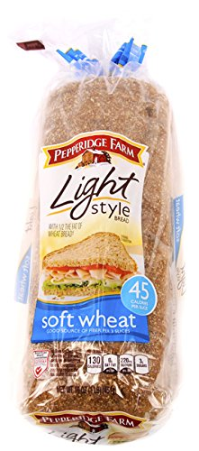Pepperidge Farm Light Soft Wheat Bread 16 oz (Pack of 2)