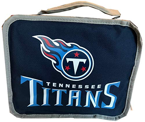 NFL Football Tennessee Titans Insulated Lunch Bag Cooler Box Style