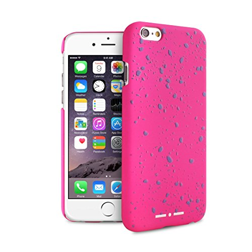 ITALIA INDEPENDENT iiipc647paintpnk Cover per iPhone 6/6S Effetto Vernice Rosa