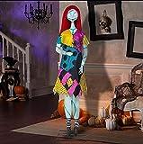 The Nightmare Before Christmas Disney 6 ft. Singing Animated Life Size Halloween Decoration Sally Animatronic