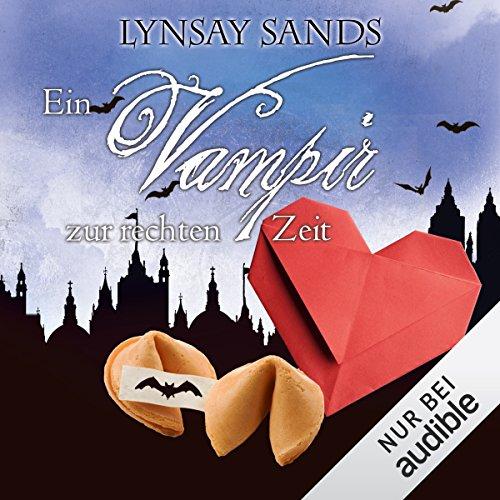 Ein Vampir zur rechten Zeit audiobook cover art
