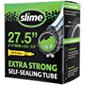 Slime 30076 Bike Inner Tube with Slime Puncture Sealant, Extra Strong, Self Sealing, Prevent and Repair, Presta Valve, 27.5 (650b) x 2.0-2.4