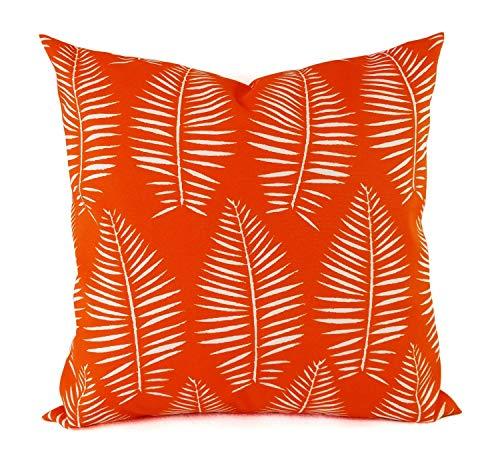 Toll2452 - Funda de almohada moderna para exteriores, diseño de hojas