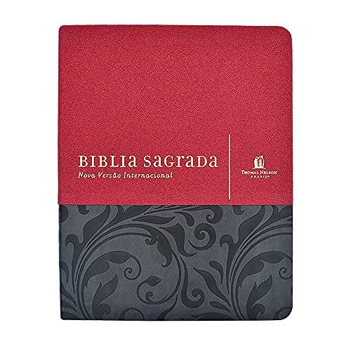 Bíblia NVI, Couro Soft, Vermelho, Com Espaço para Anotações, Leitura Perfeita