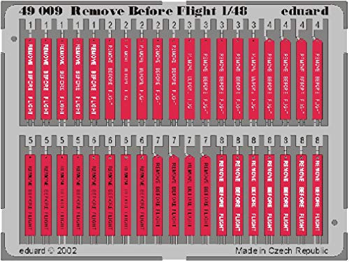 Eduard Accessories- Remove Before Flight - Accesorios para maquetas (49009)