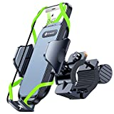 VICSEED Bike Phone Mount Holder [Anti Shake & Super Stable] Quick Release Bicycle Phone Mount Universal Handlebar Clamp Motorcycle Phone Mount for Bicycle Fit for iPhone 12 Pro/ 11 Pro Galaxy S21 All