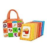 Montessori Toy 26Pcs Tarjeta De Aprendizaje Bebé Niño Juguete De Desarrollo...