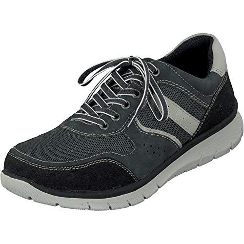 Relife Herren Schuhe Sneaker Halbschuhe 9128-19713-05 in 2 Farben (43 EU, Navy)