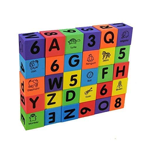 BOHS 30 Piezas de Letras y números del Alfabeto Grande