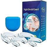 Wewell Professionelle Zahnschützer – 4 Stück formbare Nachtschlaf-Mundstücke für Zähneknirschen, beseitigt Bruxismus und Zähneknirschen – 2 Größen