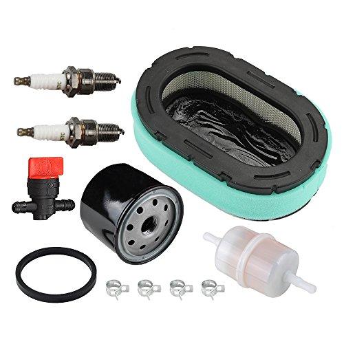 "Panari Tune Up Kit Air Filter Oil Filter for Mtd XT1 XT2 Craftsman G8300 G8400 T1800 T8000 T8200 T8400 Z6400 Z6600 Troy-Bilt 42"" 46"" 50"" 54"" XP Zero-Turn Mower Tractor"