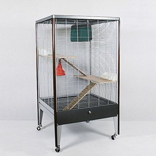 Montana Cages ® | NEUHEIT ! Voliere, Käfig für Nager in Holzoptik ! Chinchilla & Co.