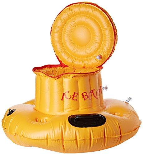 Simex Sport Schwimmender Getränkekühler Ice Butler, gelb, 48770