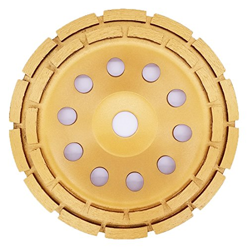 APlus Muela a Taza Diamante 180 x 22,2 mm/Disco Diamante/para Hormigón, Piedra Natural, Ladrillo