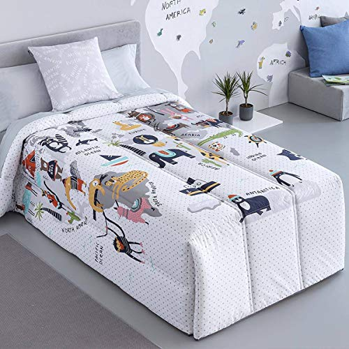 Ilustrando tus Sueños - Edredón conforter Eco - Cama 105Cm