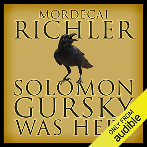 Solomon Gursky Was Here audiobook cover art