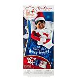 Elf On The Shelf CCSLUMBER - Saco de Dormir, diseño de Elfo, Color Azul y Blanco