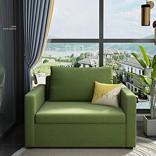 N/Z Home Equipment Cabrio Schlafsofa Bett Sofa für Home Office Wohnzimmermöbel Single Recliner Klappsessel Rückenlehne Bequeme voll gepolsterte Lounge Couch mit Kissen