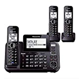 Best 2 Line Cordless Phones - Panasonic KX-TG9542B + KX-TGA950B 3-Handset Cordless System Review