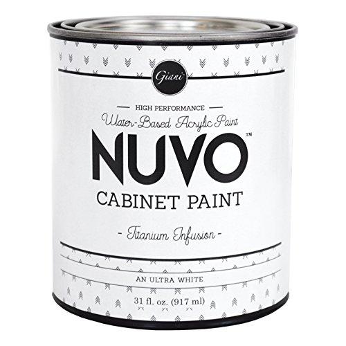Nuvo Cabinet Paint (Titanium Infusion) Quart
