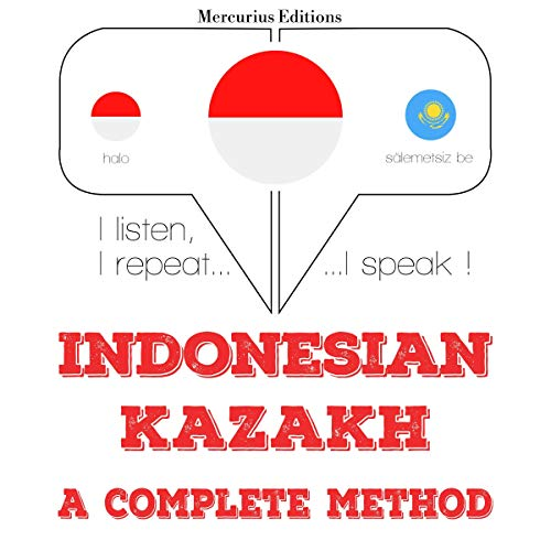 Indonesian – Kazakh. A complete method cover art