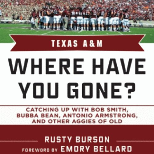 Texas A & M audiobook cover art