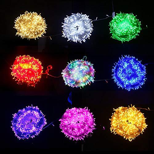 Led net lampada led luce a colori luce flash luce stringa luci pescatorenet lampada colore lampada decorazione lampada progetto luce luce colore luce 3m x 2m 192 luce con spina di coda Giallo