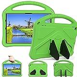 Sfulatdc Funda para Tablet Fire HD 10 (s¨®lo Compatible con 11a generaci¨®n, 2021), Cubierta a Prueba de Golpes con asa para Kindle Fire HD 10 Plus, Color Verde