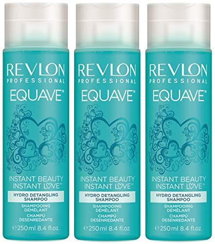 3er Hydro Instant Detangling Micellar Shampoo Revlon Professional Equave Feuchtigkeits Shampoo 250 ml