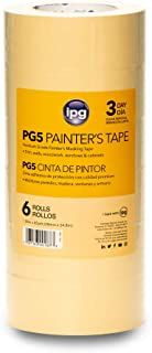"""IPG PG5, 3-Day Masking Tape, 1.88"""" x 60 yd, Tan, (6-Pack)"""