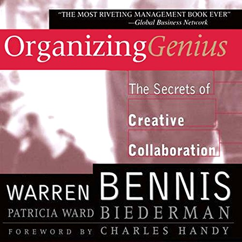 Organizing Genius audiobook cover art